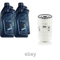 Pour BMW huile moteur 6l Mann Filtre à Huile W 1168/6 3er Touring E46 E30 E91 Z3