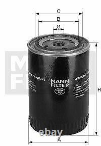Pour BMW huile moteur 6l Mann Filtre à W 1020 4 Coupé F32 F82 3er E46 E36 E92 2