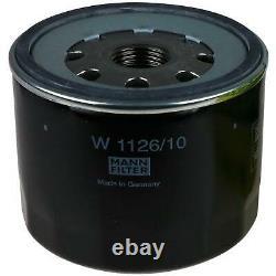 Pour BMW huile moteur 6l Mann Filtre à W 1126/10 6er E63 Z4 E85 E89 6 Grain