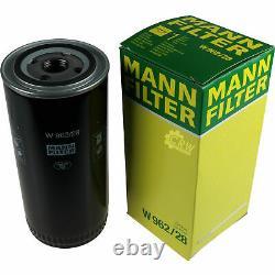 Pour BMW huile moteur 6l Mann Filtre à W 962/28 1er Cabriolet E88 123d 128i