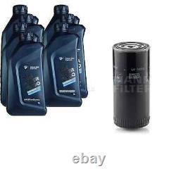 Pour BMW huile moteur 7l Mann Filtre Wp 962/5 X4 F26 4 Cabriolet F33 F83 2 Gran