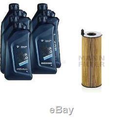 Pour BMW huile moteur 7l Mann Filtre à Hu 7016 X 6er Cabriolet F12 E64 Coupé F13
