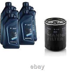 Pour BMW huile moteur 7l Mann Filtre à W 1135 2 Coupé F22 F87 1er E82 6 Gran F06
