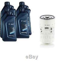 Pour BMW huile moteur 7l Mann Filtre à W 1168/6 4 Coupé F32 F82 2 Grain Tourer