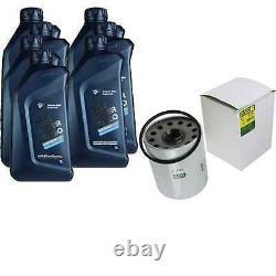 Pour BMW huile moteur 7l Mann Filtre à W 1254 x 4 Cabriolet F33 F83 3er Coupé