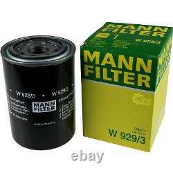 Pour BMW huile moteur 7l Mann Filtre à W 929/3 5er Gran Turismo F07 4 Coupé F32