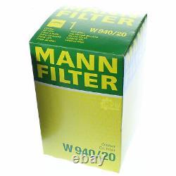 Pour BMW huile moteur 7l Mann Filtre à W 940/20 Z4 Coupé E86 1er F20 E81 E87 6