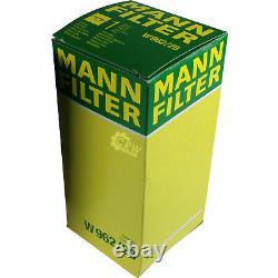Pour BMW huile moteur 7l Mann Filtre à W 962/28 3er Cabriolet E93 E30 E36 Z8