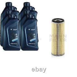 Pour BMW huile moteur 8l Mann Filtre H 1076 x 3 Gran Turismo F34 5er E60 F10 F18