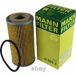 Pour BMW huile moteur 8l Mann Filtre H 804 x 2 Active Tourer F45 5er Granturismo
