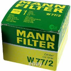 Pour BMW huile moteur 8l Mann Filtre à W 77/2 X6 E71 E72 F16 F86 Z8 E52 I8 I12
