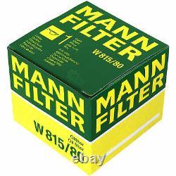 Pour BMW huile moteur 8l Mann Filtre à W 815/80 3 Gran Turismo F34 Z4 Coupé E86