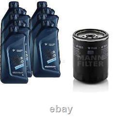 Pour BMW huile moteur 9l Mann Filtre à W 1135 3er Cabriolet E30 E46 E93 4 Coupé