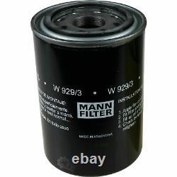 Pour BMW huile moteur 9l Mann Filtre à W 929/3 8er E31 6er Coupé F13 Cabriolet