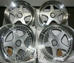 Roues Alliage X 4 17 DR-F5 8.5J Pour BMW E36 1 Série Mini Paceman Jc R60 R61