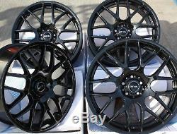 Roues Alliage X 4 17 Noir DTM pour BMW E36 Série 1 Mini Paceman Jc R60 R61