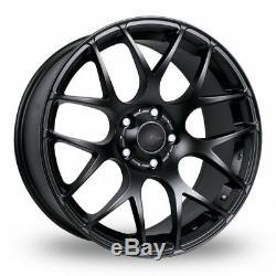 Roues Alliage X 4 17 Noir Ms007 pour BMW E36 Série 1 Mini Paceman Jc R60 R61