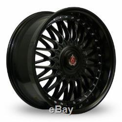 Roues Alliage X 4 18 M Noir Ex10 pour BMW E36 Série 1 Mini Paceman Jc R60 R61