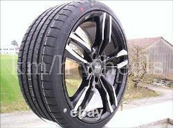 Roues Pneus D'Été Jantes 19 Pouces Pour BMW X1 X2 1er Wheelworld WH29 235/35