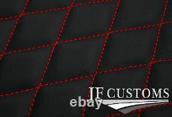 Rouge Cross Point Vinyl 4x Adapté Étage Tapis Pour Bmw Mini S R56 07-14 Jf1