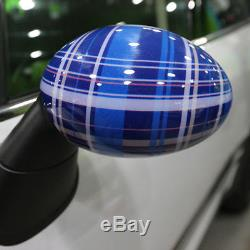 Side Wing Mirror Cover Caps Aile Miroir Couvre pour BMW Mini Cooper ONE S RM12