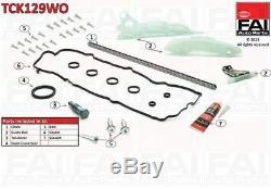 TCK129WO Fai Kit Chaîne Distribution pour BMW 1 (F20) 116 I (N13 B16 A) 12/10