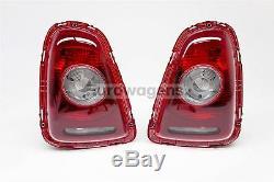 Véritable BMW Mini Cooper R56 07-09 Transparent Arrière Feux Paire de Conducteur
