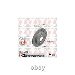 Zimmermann Disques de Frein Sport + Garnitures Arrière Mini R56 + Cabriolet R57